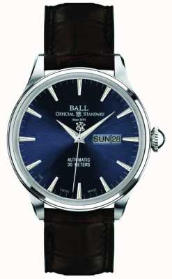 Ball Watch Company Eternity azul dial trainmaster NM2080D-LJ-BE