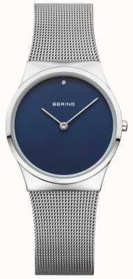 Bering Cuadrado azul de la malla azul de la mujer 12130-007