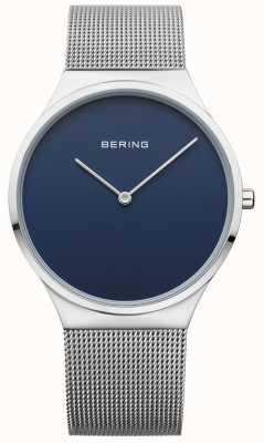 Bering Mens azul clásico dial azul 12138-007
