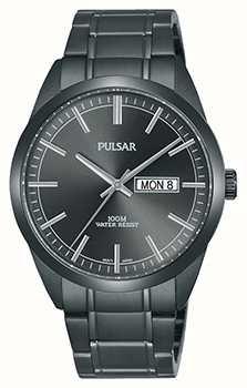 Pulsar Gents reloj de acero inoxidable gris PJ6075X1