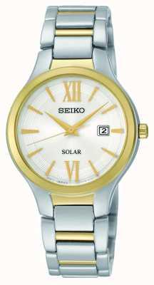 Pulsar Reloj de señoras vestido de dos tonos PH8284X1