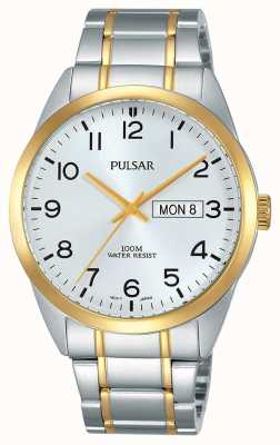 Pulsar Caballeros reloj en dos tonos PJ6064X1