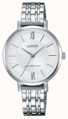 Lorus Señoras del reloj de acero inoxidable RG291LX9