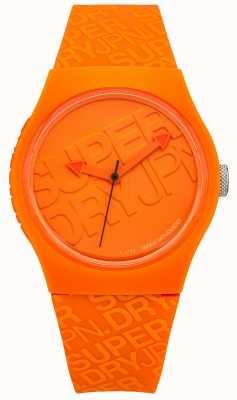 Superdry Unisex urbano naranja silicona SYG169O