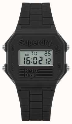 Superdry Mens retro digi gris silicona SYG201E