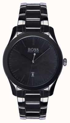 Hugo Boss embajador para hombre edición especial brazalete de cerámica negro 1513223