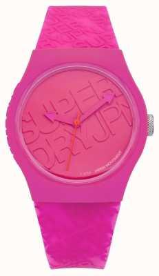 Superdry Silicona rosa urbana para mujer SYL169P