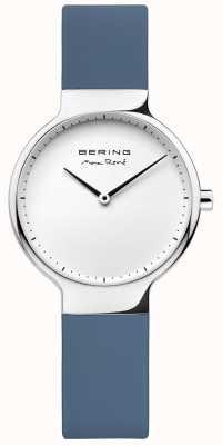 Bering Señoras max rené correa de goma azul intercambiable 15531-700