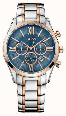 Hugo Boss Reloj de acero embajador caballeros 1513321