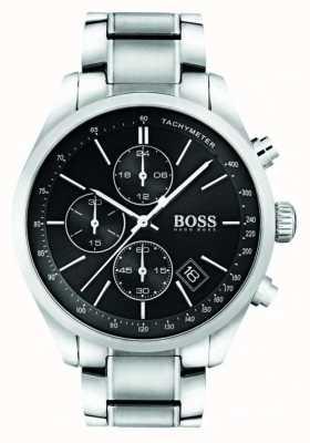 Hugo Boss Reloj de acero de gran premio caballeros 1513477