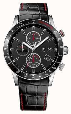 Hugo Boss Caballeros Rafale reloj cronógrafo negro 1513390