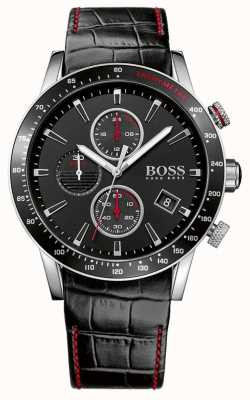 Boss Reloj cronógrafo caballero negro rafale 1513390