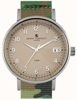 Smart Turnout amarillento reloj con el reloj Académico camo STH3/BE/56/W