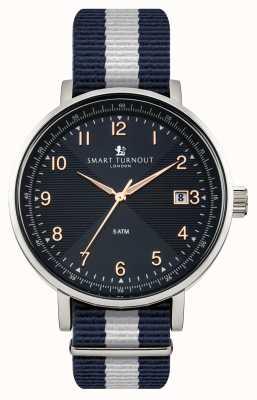 Smart Turnout azul reloj con correa de Yale Académico STH3/BL/56/W