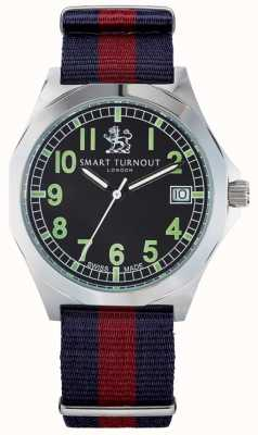 Smart Turnout reloj con correa militar hd STA/56/W