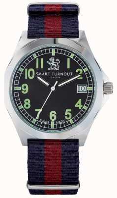 Smart Turnout reloj con correa militar hd STA/56/W