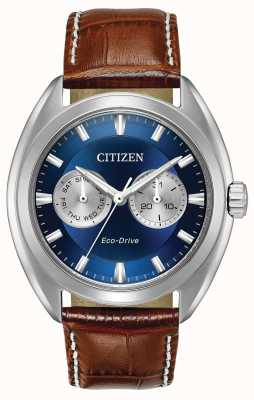 Citizen Paradex eco-drive blue dial azul BU4010-05L
