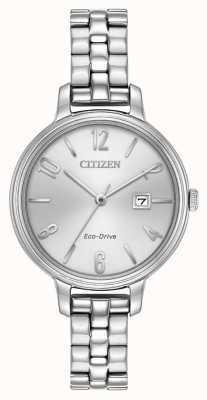 Citizen Womans plata de conducción ecológica Chandler EW2440-53A