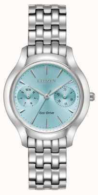 Citizen Womans Eco-Drive silueta azul Chandler FD4010-57L
