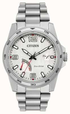Citizen acero reserva de marcha de conducción ecológica para hombre AW7031-54A