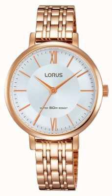 Lorus Womans dama de oro rosa RG286LX9