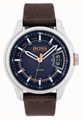 Hugo Boss Orange Mens hong kong correa de color marrón 1550002