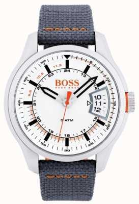 Hugo Boss Orange Hong Kong para hombre de la correa gris 1550015