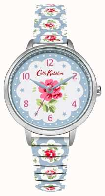 Cath Kidston Expansor floral de color azul pálido para mujer CKL030WU