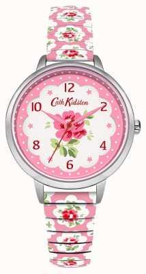Cath Kidston Expansor floral rosado pálido de la mujer CKL030WP