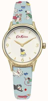 Cath Kidston Perros de la mujer azul pálido CKL011UG