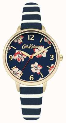 Cath Kidston Raya floral de la marina de guerra de la mujer CKL032UG