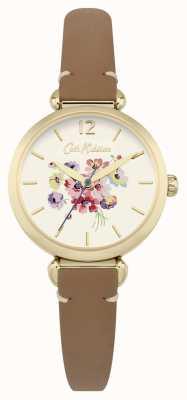 Cath Kidston Mujer marrón floral dial CKL015TG