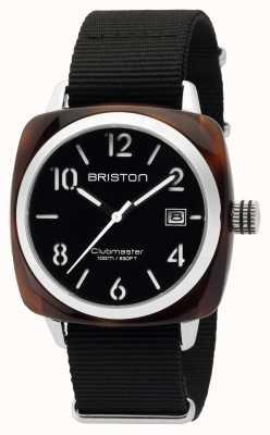 Briston Mens clubmaster classic acetato hms concha negro 16240.SA.T.1.NB