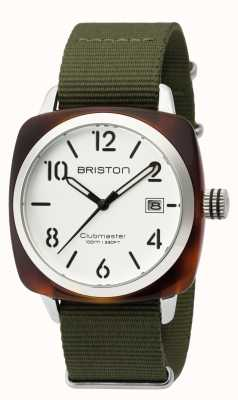 Briston Hombre clásico clubmaster acetato hms tortuga shell blanco 16240.SA.T.2.NGA