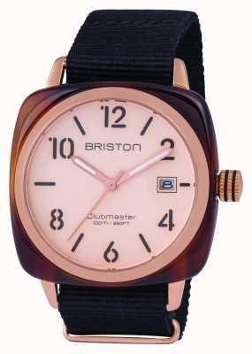 Briston Hombre clubmaster clásico acetato oro rosa 14240.PRA.T.6.NB