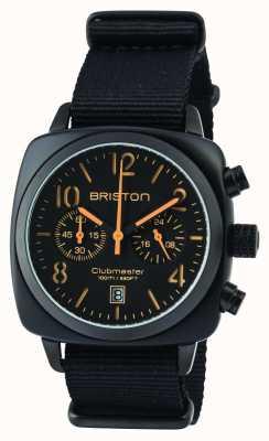Briston Hombre clubmaster clásico acetato negro mate 13140.PBAM.B.4.NB