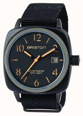 Briston Hombre clubmaster clásico acetato hms negro mate 14240.PBAM.B.4.NB