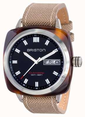 Briston Mens clubmaster sport acetato hms tortuga negro 15342.SA.TS.1.LSK
