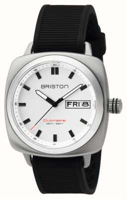 Briston Ex-display mens clubmaster sport acero hms blanco 16342.S.SP.2.RB-EX-DISPLAY