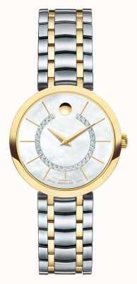 Movado 1881 reloj automático de las mujeres 0606921