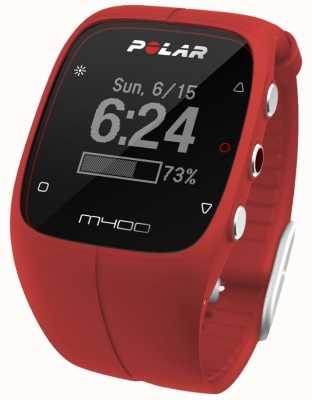 Polar unisex m400 bluetooth gps (rojo con hr) actividad 90061177