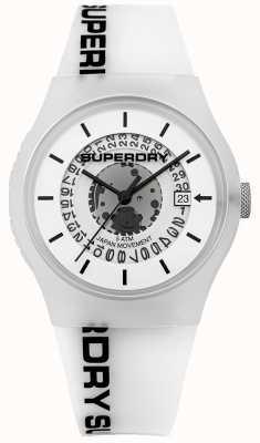 Superdry Hombre urbano semi opaco blanco SYG168W