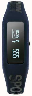 Superdry correa de silicona azul marino unisex rastreador de ejercicios SYG202UB
