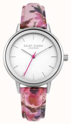 Daisy Dixon Correa floral rosada de jazmín de Womans DD049PS