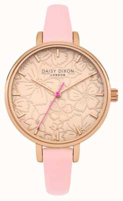 Daisy Dixon Womans phoebe estampado floral esfera oro rosa DD042P