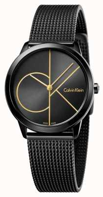 Calvin Klein Malla negra mínima de Womans K3M224X1