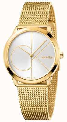 Calvin Klein Malla mínima tonificada oro de Womans K3M22526