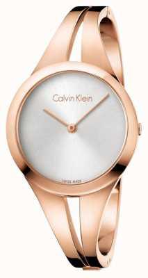 Calvin Klein Womans addict oro rosa tóner brazalete K7W2S616