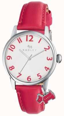 Radley Womans liverpool calle rosa correa de cuero RY2455