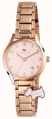 Radley Womans liverpool calle pulsera de oro rosa RY4266